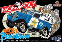1/25 '33 Willys Paddy Wagon (Monopoly) Plastic Model Kit