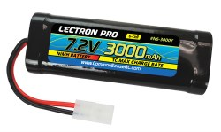 NiMH 7.2V (6-cell) 3000mAh Flat Pack with Tamiya Connector