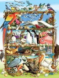 Birds of the World 350pc