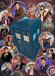 Doctor Who:The Doctors 1000pc