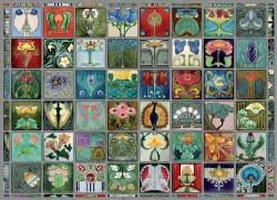 Art Nouveau Tiles -  1000pc