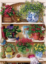 Flower Cupboard 500pc Puzzle