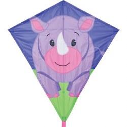 """30"""" Diamond Kite - Riley Rhino"""
