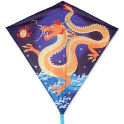"""30"""" Diamond Kite - Asian Dragon"""