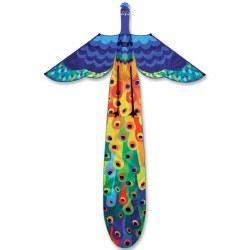3-D Peacock Kite