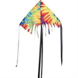 "24"" Fringe Delta Kite - Tie Dye"