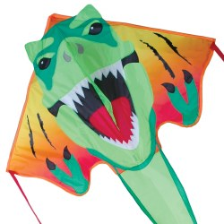 Large Easy Flyer Kite - T- Rex