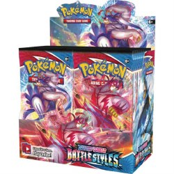 Pokemon Sword and Shield Battle Styles Booster Box