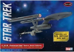 1/1000 Star Trek TOS USS Enterprise (Space Seed Edition) Plastic Model Kit