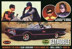 1/25 1966 Batmoblie w/ Batman and Robin Figures
