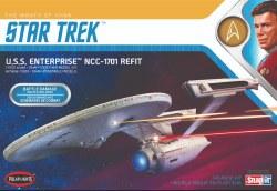 1/1000 Star Trek U.S.S. Enterprise Refit (Khan Edition) Plastic Model Kit