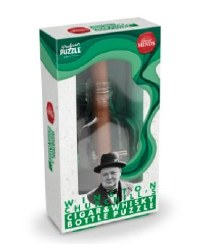 Churchill's Cigar and Whisky Bottle Puzzle