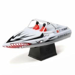 Sprintjet 9-inch Self-Righting Jet Boat Brushed - Silver