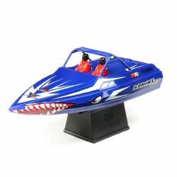 Sprintjet 9-inch Self-Righting Jet Boat Brushed - Blue