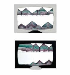 Screenie: Two-Tone Black/White Sand Art