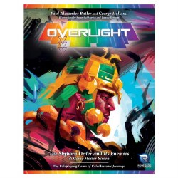 Overlight RPG: The Skyborn Order and It's Enemies & Game Master Screen