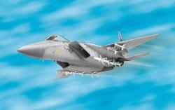 1/100 F15 Eagle Aircraft Plastic Model Kit