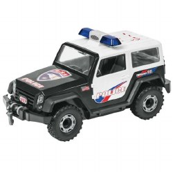 Police Off-Road Vehicle, Junior Model Kit