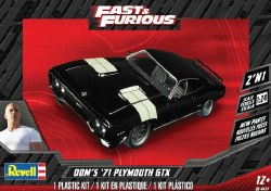 1/24 1971 Dom's Plymouth GTX 2'N1 Plastic Model Kit