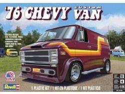 1/25 1976 Chevy Custom Van Plastic Model Kit