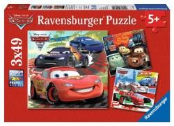 Disney Cars Worldwide Racing Fun 3 @ 49pc Puzzles