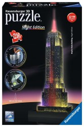 Empire State Building at Night  216pc