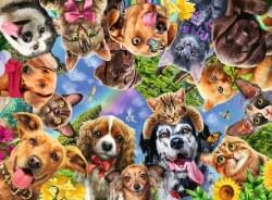 Funny Animal Selfie 500pc Puzzle