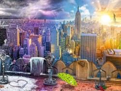 New York Skyline - Winter & Summer 1500pc