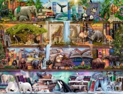 Wild Kingdom Shelves 2000pc