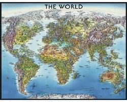 World Map 2000pc