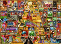 """Awesome """"A""""  1000pc Puzzle"""
