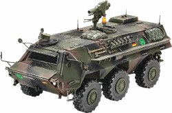 1/35 TPz1 Fuchs A4 Armored Personnel Carrier Plastic Model Kit