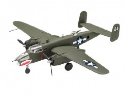 1/76  B25 Mitchell Bomber Plastic Model Kit
