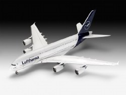 "1/144 A380-800 Lufthansa ""New Livery"" Plastic Model Kit"