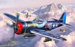 1/72  Thunderbolt Fighter Plastic Model Kit