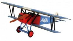 1/72 Fokker D VII BiPlane Fighter Plastic Model Kit
