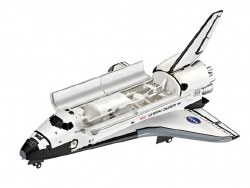 1/144 Space Shuttle Atlantis Plastic Model Kit
