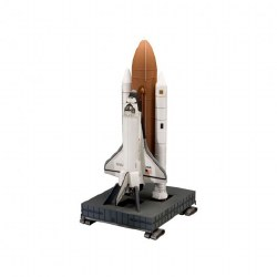 1/144 Space Shuttle Discovery & Booster Rockets Plastic Model Kit