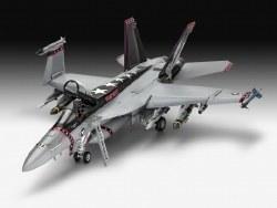 1/32 F/A 18E Super Hornet Fighter Plastic Model Kit