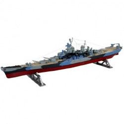 1/535 USS Missouri Battleship Plastic Model Kit