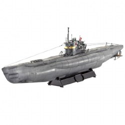 1/144 Submarine Type V2 C/41 U-Boat Plastic Model Kit