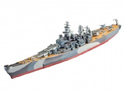 1/1200 Battleship USS Missouri  (WWII) Plastic Model Kit