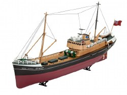 1/142 Northsea Fishing Trawler Boat Plastic Model Kit