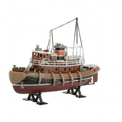 1/108 Harbor Tug Boat Plastic Model Kit