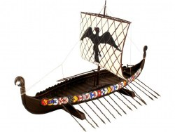 1/50 Viking Ship Plastic Model Kit