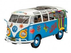 """1/24 Samba T1 """"Flower Power"""" Bus Plastic Model Kit"""