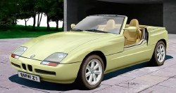 1/24 BMW Z1 Convertible Car {Ltd} Plastic Model Kit