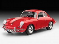 1/16 Porsche 356 B Coupe Plastic Model Kit
