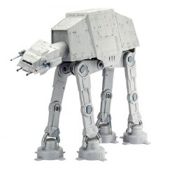 """1/53 Star Wars AT-AT 40th Anniversary """"The Empire Strikes Back"""" Plastic Model Set with paint & glue"""