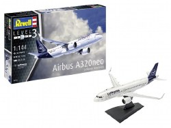 1/144 Airbus A320  Neo Lufthansa Plastic Model Set with paint & glue